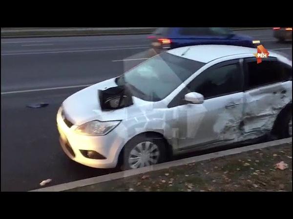 Три человека пострадали в ДТП на западе Москвы