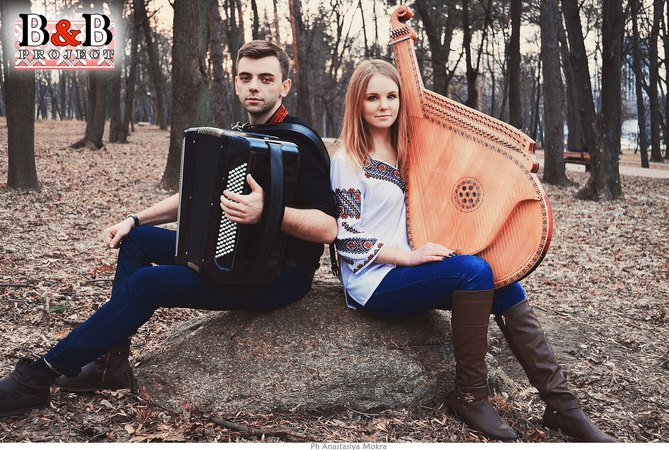 Гімн України (інструментальний кавер) BB Project (бандура та баян) National Anthem of Ukraine