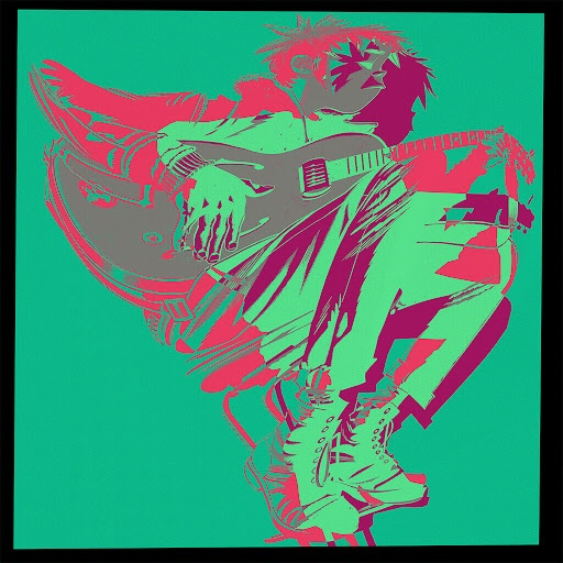Gorillaz альбом Humility (feat. George Benson) [Remixes]