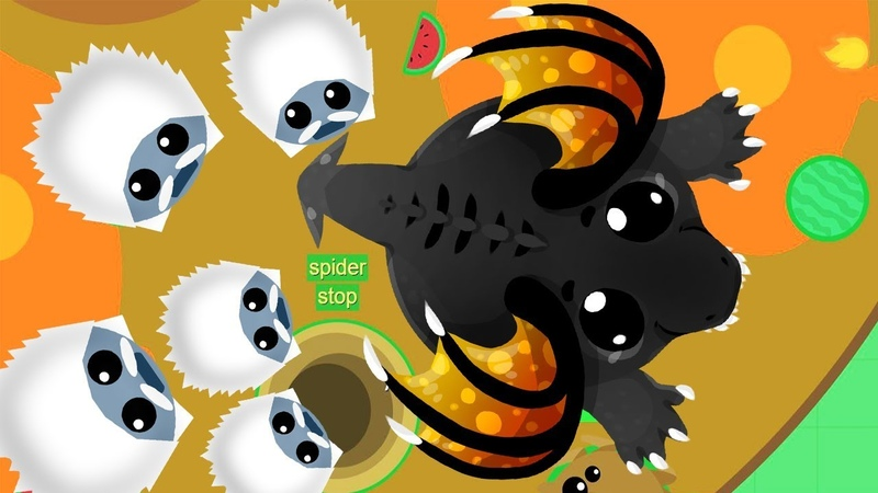 Новая Сходка в игре Мопио! Схватка Йети против Черного Дракона Моуп ио   Mope io