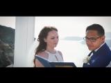 Elizabeth &amp Uriel, Santorini Wedding