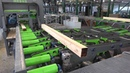 SAWING LINE with scanning, MEBOR, HIGH production, VTZ OF, START-UP