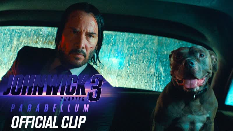 """John Wick Chapter 3 Parabellum 2019 Movie Official Clip Taxi"""" Keanu Reeves Halle Berry"""