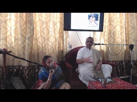 Грихастха-ашрам в сознании Кришны (часть 3) - ЕМ Харилила Прабху (4 июля 2018, Иркутск)