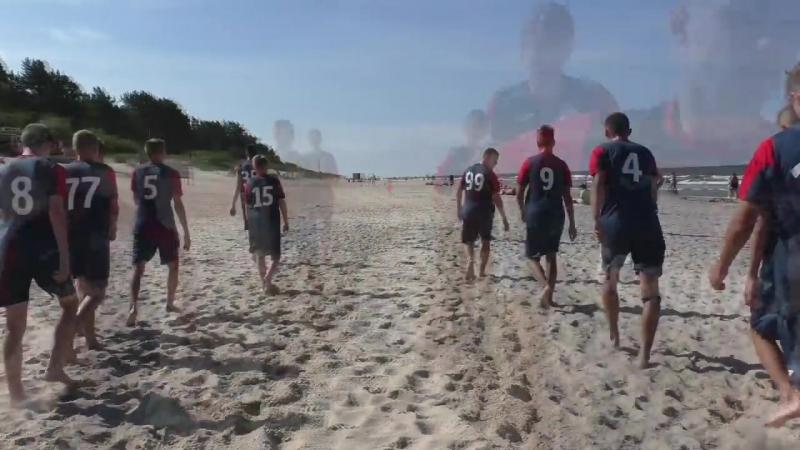 Прыжковая тренировка на песке с Геннадием Юркевичем
