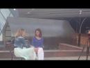 Валерия Лесовская. Один день в Экотеле Снегирек Подсмотренные съемки телеканала Спас