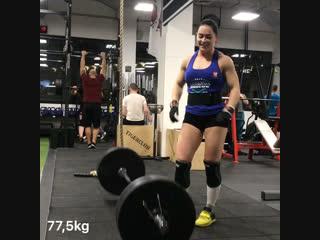 85 kg взятие 24.10.2018