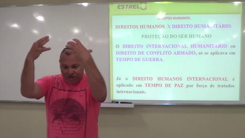 VÍDEO-1: QUESTÕES DE DIREITOS HUMANOS: PM/BM