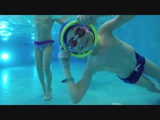 Фридайвинг - подводное плавание в Батискафе 6-9 лет