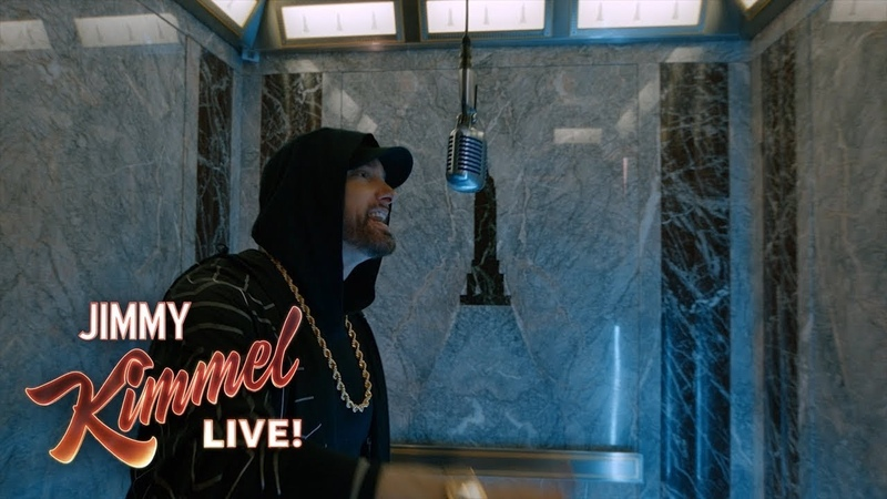 """EXCLUSIVE - Eminem Performs """"Venom"""" from the Empire State Building! Presented by Google Pixel 3"""
