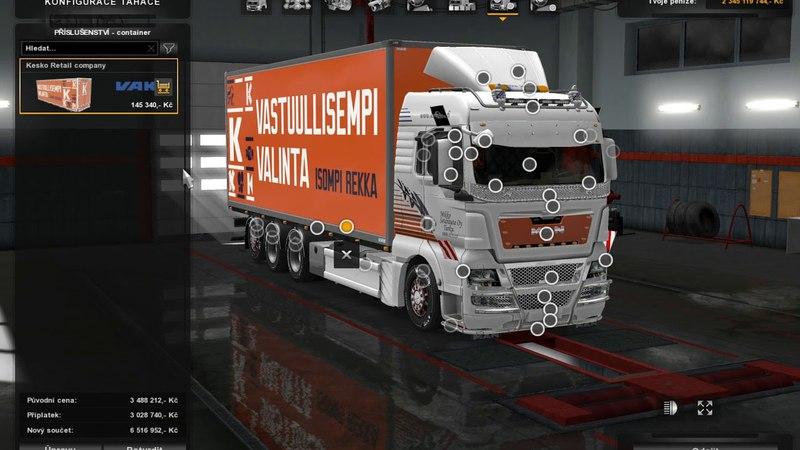 [ETS2]Euro Truck Simulator 2 MAN TGX 2010 v 5.2 by XBS