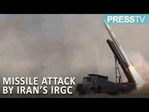 IRGC attack killed many terrorists injured dozens of them