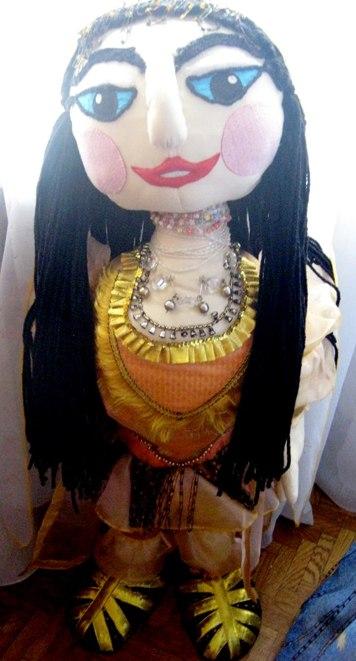Текстильная кукла Шамаханская царица.