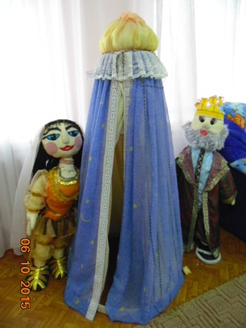 Куклы в подарок детской библиотеке Мончегорск.