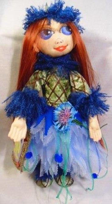 Кукла текстильная 45 см.