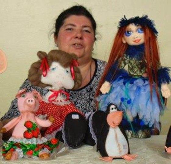Текстильные куклы от тетушки Куми.