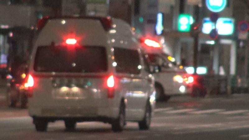 緊急走行救急車が鉢合わせするとどうなる?When 2 ambulances bump into each other at an intersection, what happens?