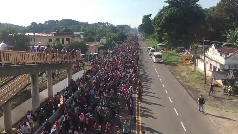 Auch Mexiko erlebt einen Massenansturm, doch das Ziel der Migranten aus dem vom Sozialismus völlig abgewirtschafteten Venezuela