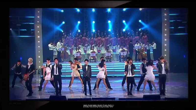 101230 B2ST 2PM 2AM and Shinee with song 'It's my life' 'Bohemian Rhapsody'