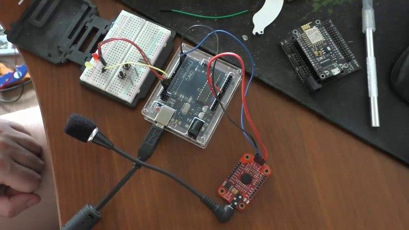 Модуль распознования речи Voice Recognition Module v3 1 и подключение его к Arduino