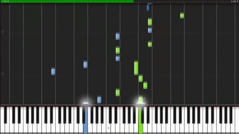 Пианино. Людвиг ван Бетховен - К Элизе [HD, 1280x720p]