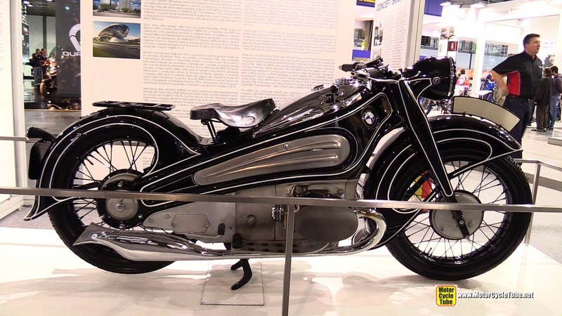 1934 BMW R7 Concept Bike - Walkaround - 2014 EICMA Milan Motorcycle Exhibition