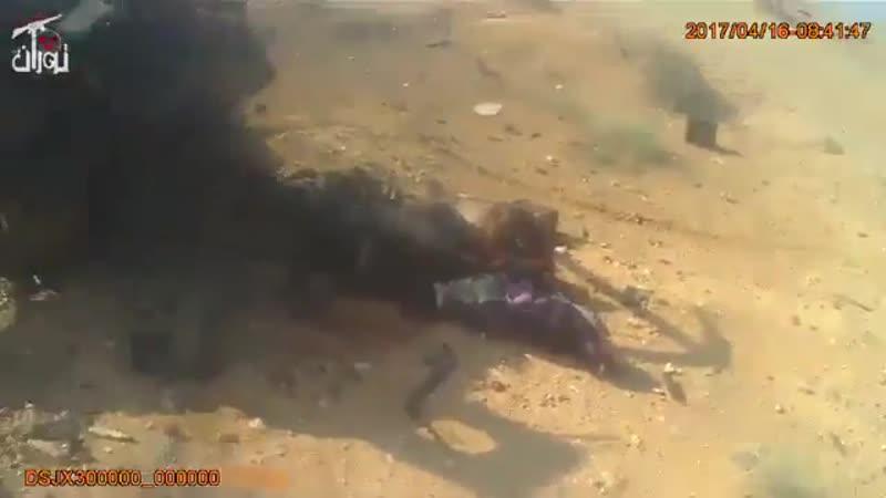 Бойцы батальон Туран уничтожили игиловцев в пустыне Пальмиры