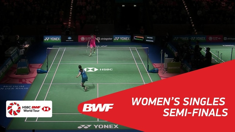 WS | CHEN Yufei (CHN) [4] vs Nitchaon JINDAPOL (THA) [6] | BWF 2018