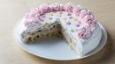Легкий слоеный торт с йогуртовым кремом Очень простой рецепт