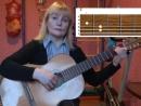 Виноградная косточка. Видео разбор песни под гитару.
