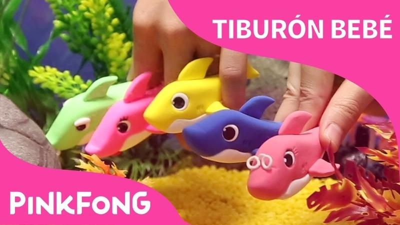 Tiburón Bebé de Plastilina Animales Pinkfong Canciones Infantiles