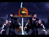 Mortal Kombat 9 (PC) - Sub-Zero MKX Style skin mod - gameplay + download link