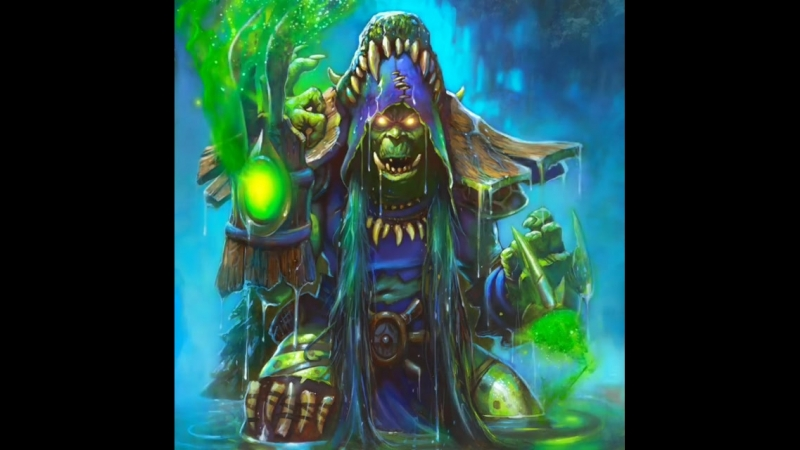 """""""Hagatha the Witch"""" from Hearthstone's new expansion"""