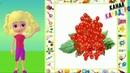 100 слов для детей 1-3 года. Фрукты и Ягоды. Карточки Домана.