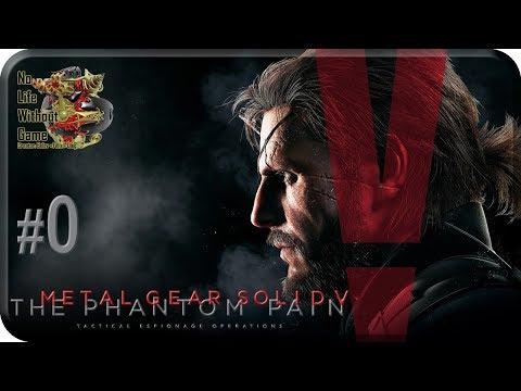 MGS V: The Phantom Pain[0] - Пробуждение (Прохождение на русском(Без комментариев))