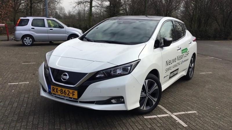 Новый Nissan Leaf 2018. Второе поколение. Народный Лиф