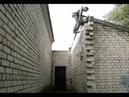 Russian ninja parkour, climbing, free run