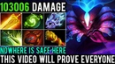 Is【Spectre】Still Scary In This New Patch? This Video Will PROVE! NOWHERE Is SAFE! | Dota 2 Highlight