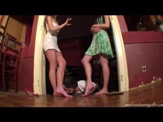 Goddess Maria Женское доминирование раб для ног Femdom Фут-фетиш Foot fetish licking feet
