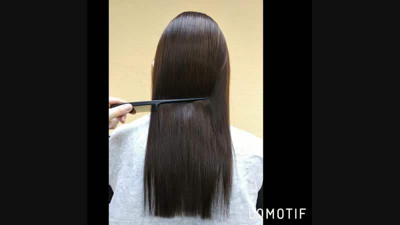 Кератиновое выпрямление волос При просмотре видео поставьте самое высокое качество