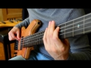 THE LAST OF THE MOHICANS - Fretless Fretted Bass - Zander Zon 720p