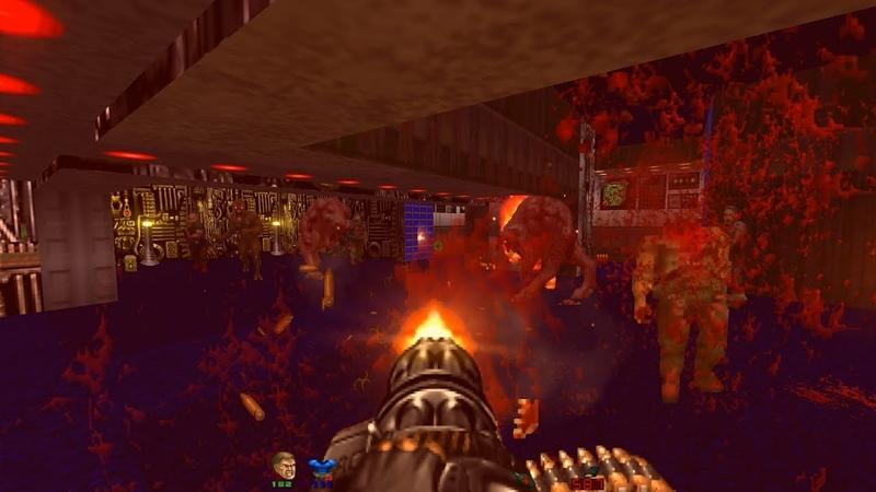Doom the Way id Did – Lost Episodes | E1M5 Kepler Dorsum [Brutal Doom v21 RC1]