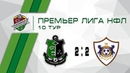 Fc Anchor 2 2 Фк Карабах Москва Премьер Лига 10 тур Обзор матча