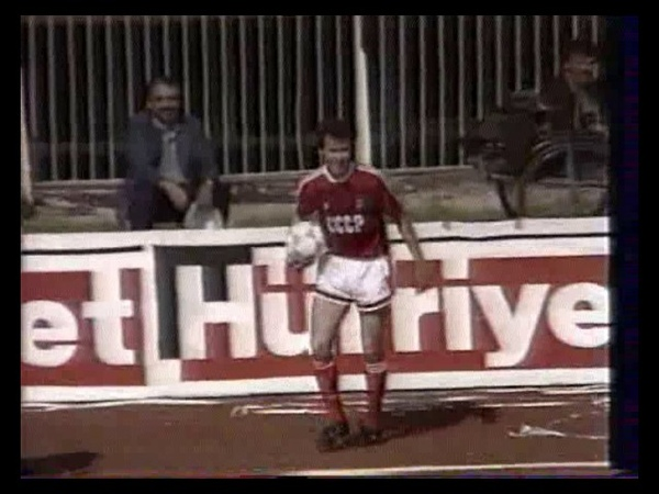 1990 FIFA World Cup Qualifiers - Turkey v. Soviet Union