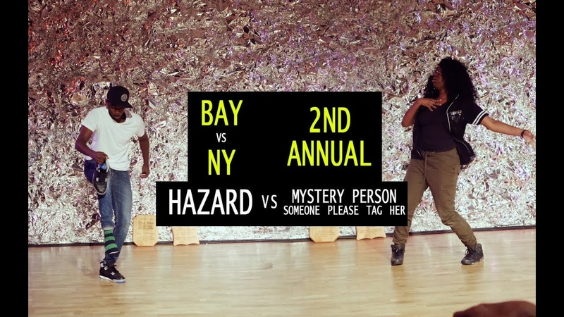 Hazard (NY) vs Mystery Person | TURFinc | BAY VS NY | 2nd Annual | Top 16 Dance Battle Tournament