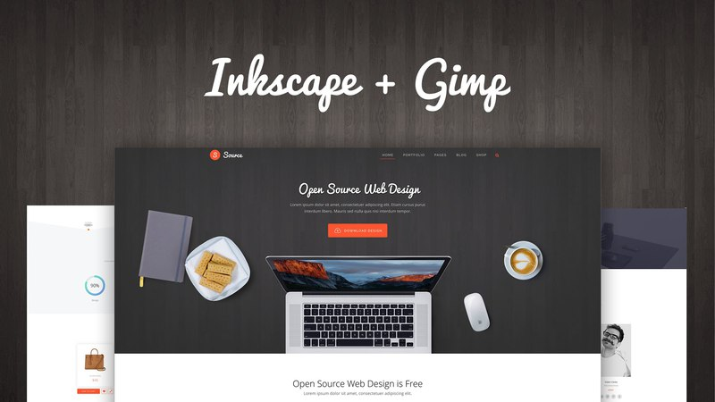 Мастер веб-дизайна 4: Open Source Web Design (Inkscape Gimp)