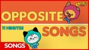 CBeebies Songs | Kit Pup | Opposite Songs Compilation