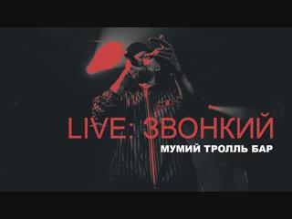 Live: Звонкий / Мумий Тролль Бар