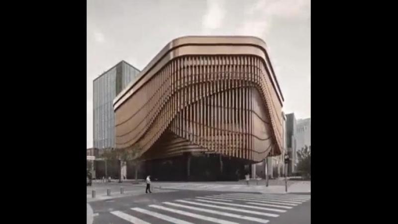Финансовый центр в Шанхае.