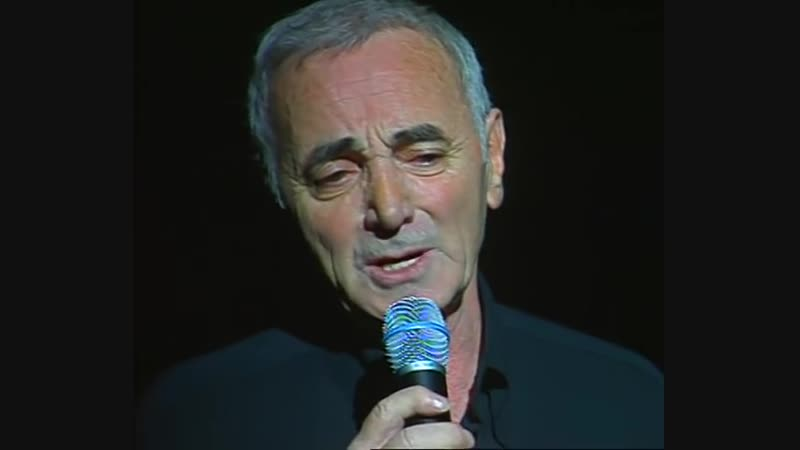 Charles Aznavour - Jen déduis que je taime (Palais des Congrès, 1997)